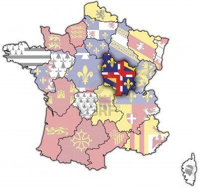 Bourgogne (Burgundy), historical French Region encompassing the old province of Bresse.