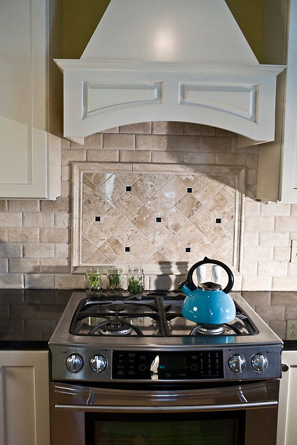 Best 25 travertine backsplash ideas on pinterest brick Backsplash or no backsplash