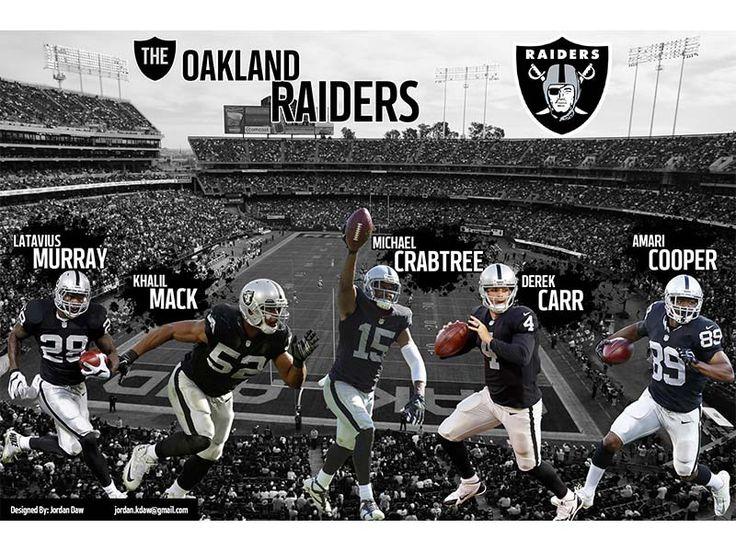 2016 Oakland Raiders Wallpaper