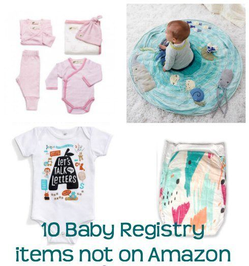 10 Baby Registry items you can't find on Amazon