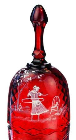 •♥•✿ڿڰۣ(̆̃̃•Aussiegirl #Beautiful #Glass Fenton ruby red glass