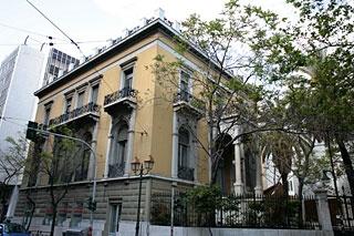 ΑΡΧΕΙΟ ΝΕΟΤΕΡΩΝ ΜΝΗΜΕΙΩΝ - Μέγαρο Δεληγεώργη, Κανάρη & Ακαδημίας, private mansion close to the Parliament, from 1890