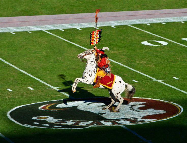 Chief Osceola and Renegade. Not mascots, but symbols of FSU.
