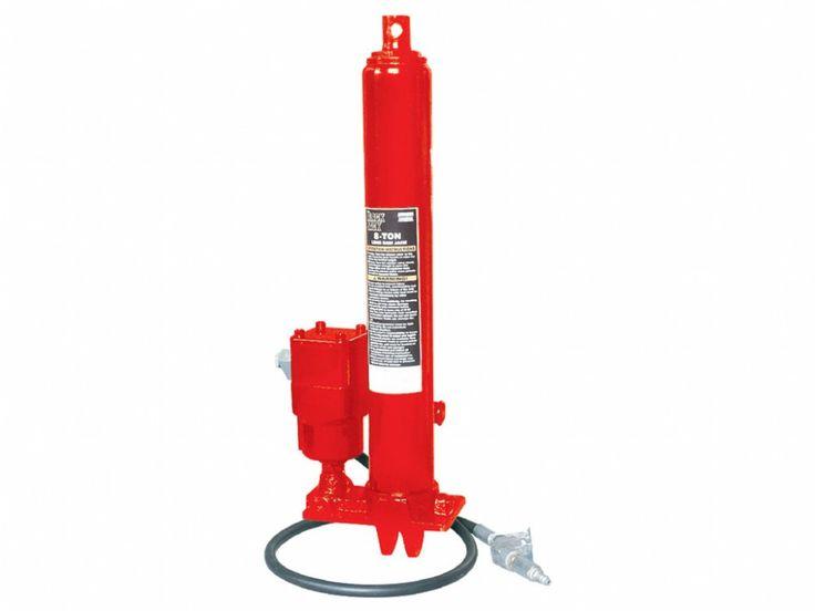 Pneumatikus-hidraulikus munkahenger pumpával 8t, Big Red