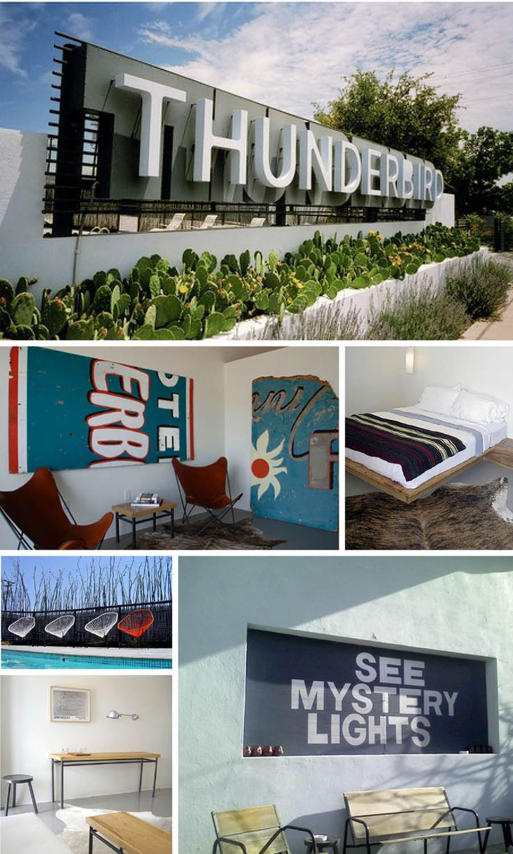 The Thunderbird Hotel, Marfa, TX