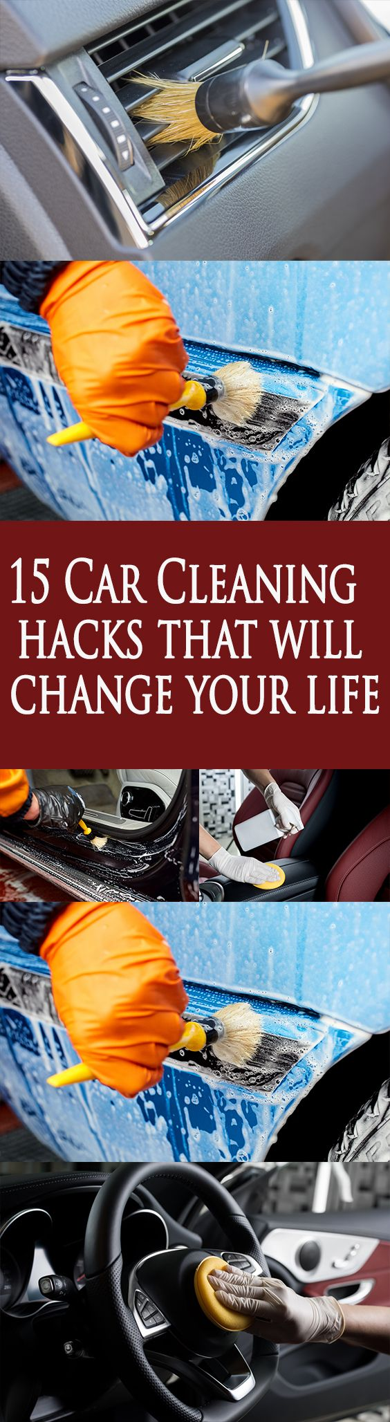 15 Car Cleaning hacks that will change your life