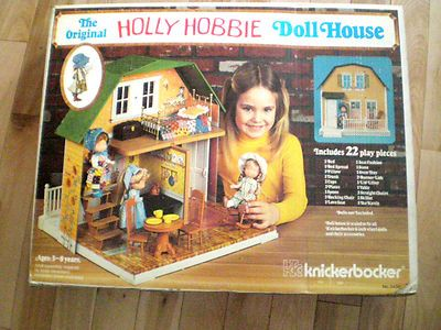 Vintage The Original Holly Hobbie Doll House w Accessories | eBay