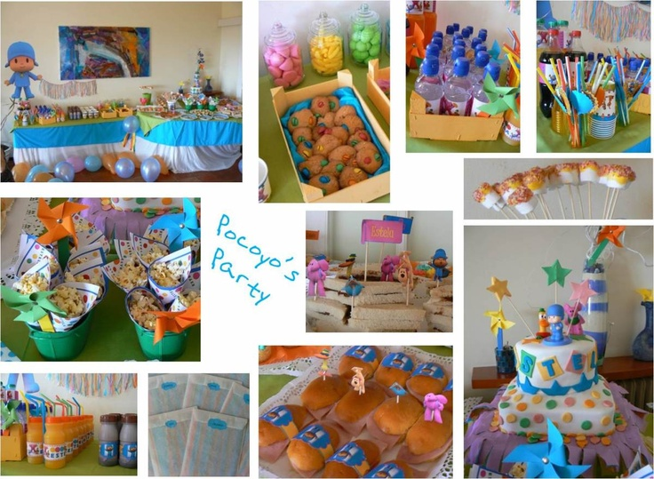 125 best images about 2nd birthday pocoyo party ideas 2013 for 2nd birthday decoration ideas