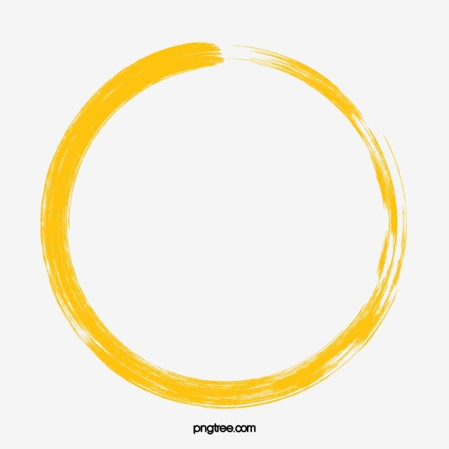 Yellow Circle Background Shading Png And Psd Circle Clipart Circle Art Yellow Painting