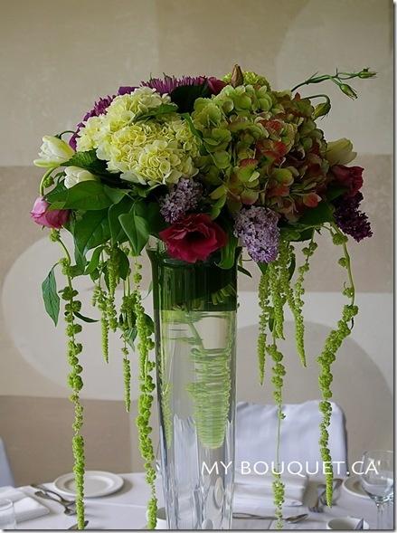 fabFloral Centerpieces, Flowerarrangements, Tall Centerpieces, Hydrangeas