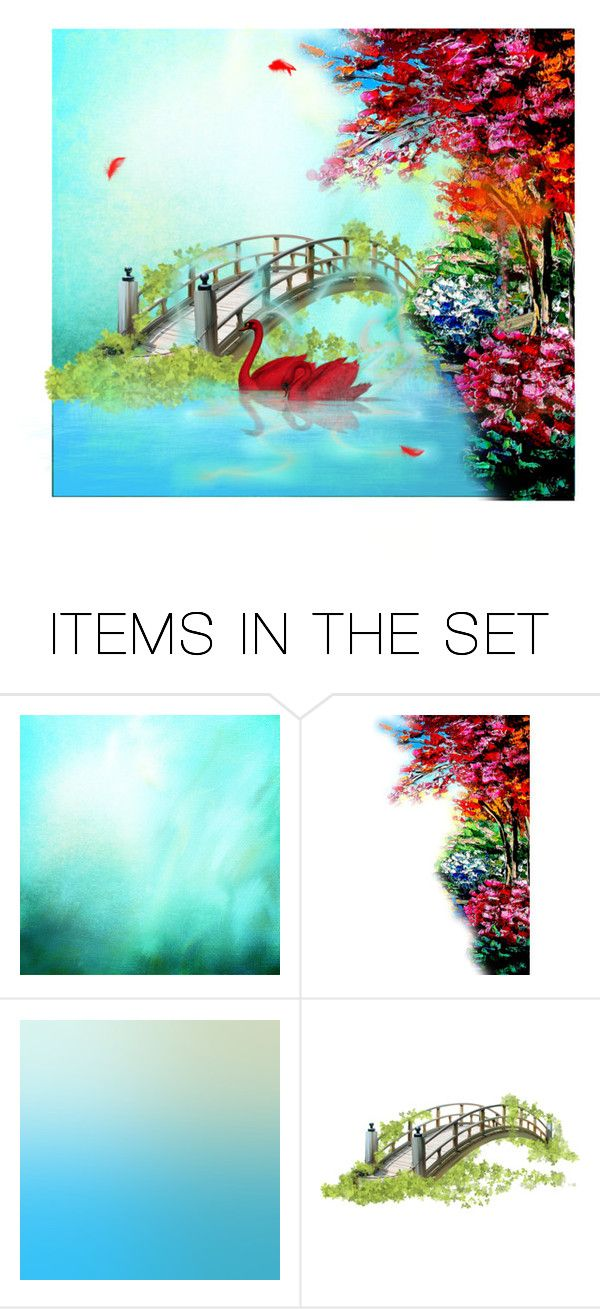 Japanese Spring by screaming-soul on Polyvore featuring art