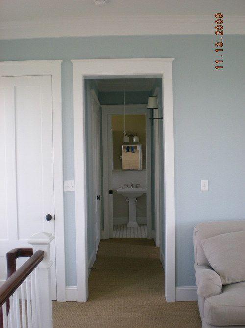 Sleepy Blue Living Room