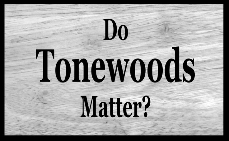 Do Tonewoods Matter for Electric Guitar?