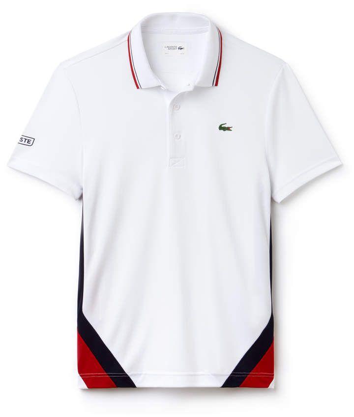 Men S Sport Colorblock Bands Technical Pique Tennis Polo Polo Shirt Design Polo Design Polo T Shirts