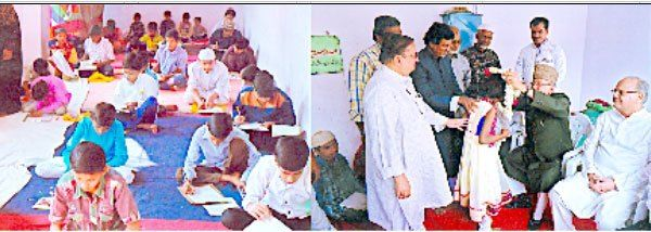 عابد علی خاں ایجوکیشنل ٹرسٹ کے اردو امتحانات کا پرامن اختتام