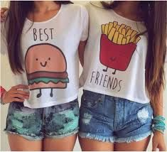 Resultado de imagen para camisetas para mejores amigas originales