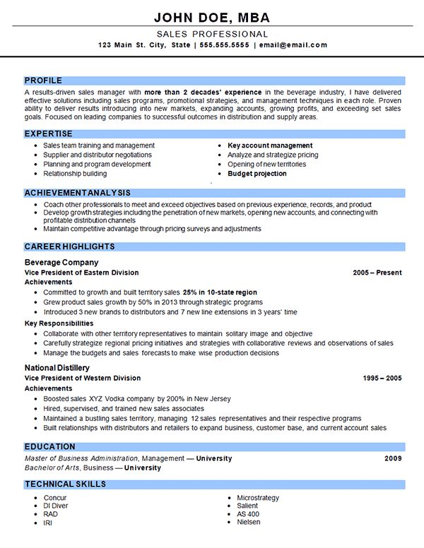outside sales resume example. Resume Example. Resume CV Cover Letter