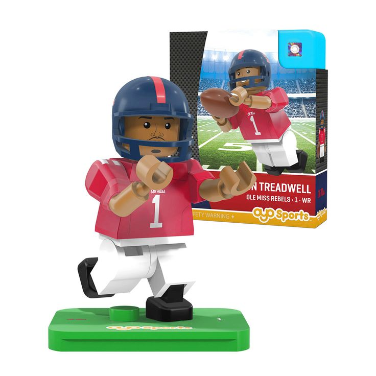 Laquon Treadwell Ole Miss Rebels OYO Sports NCAA Player Figurine - $10.39