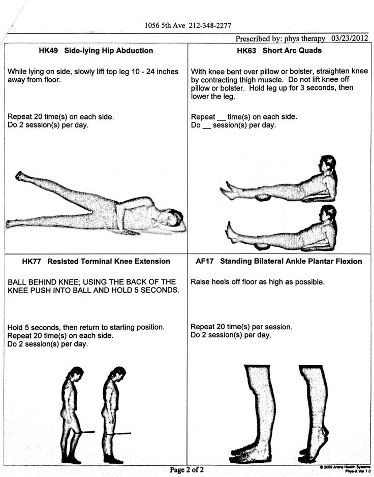 Physical Therapy Exercises Foot Drop Physical Therapy