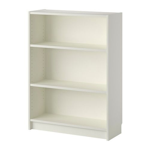 BILLY Bookcase IKEA Adjustable shelves; adapt space between shelves according to your needs.106x80 -could that work ok?
