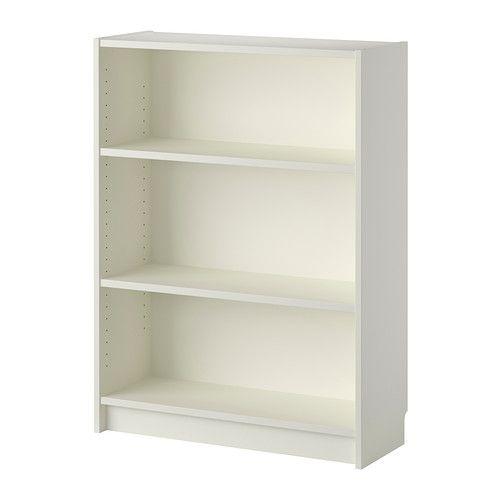 BILLY Bücherregal IKEA Versetzbare Einlegeböden. Man kann bei wenig Platz mit einem Element beginnen und es je nach Aufbewahrungsbedarf erwe...