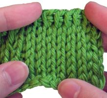 How to make crocheting look like knitting