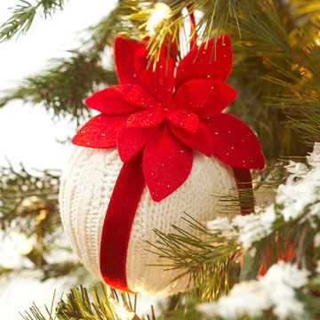Easy Christmas ornaments and their how-tos.