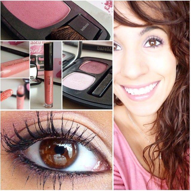 Le joli #makeup pink de Léa M. avec bare Minerals