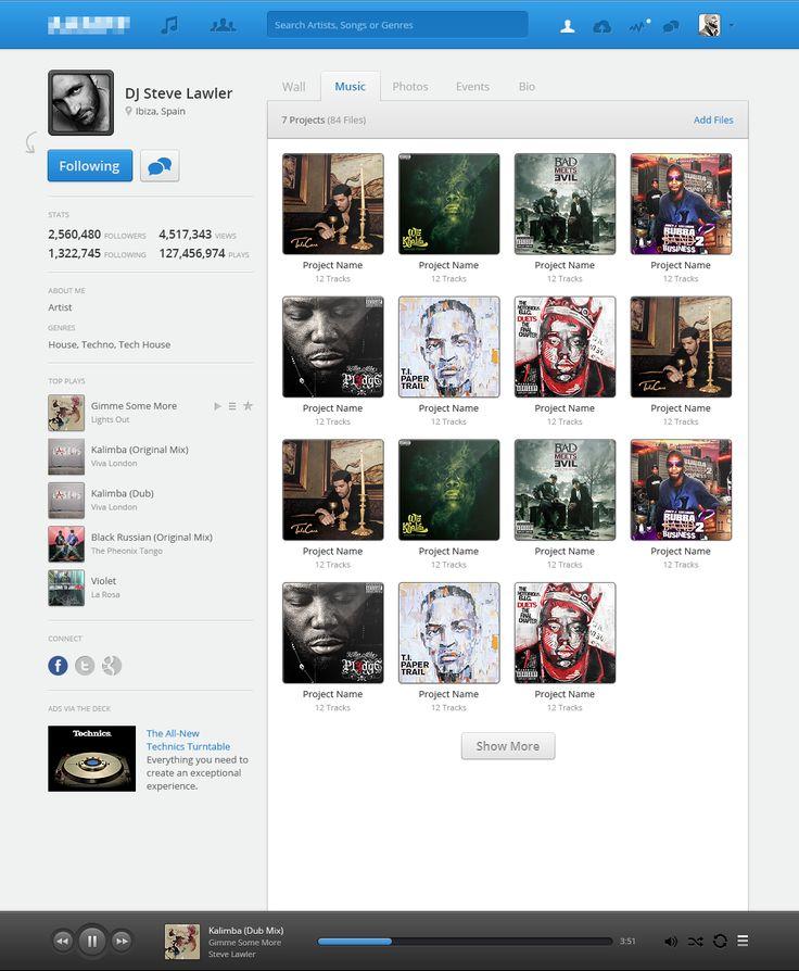 Profile music large