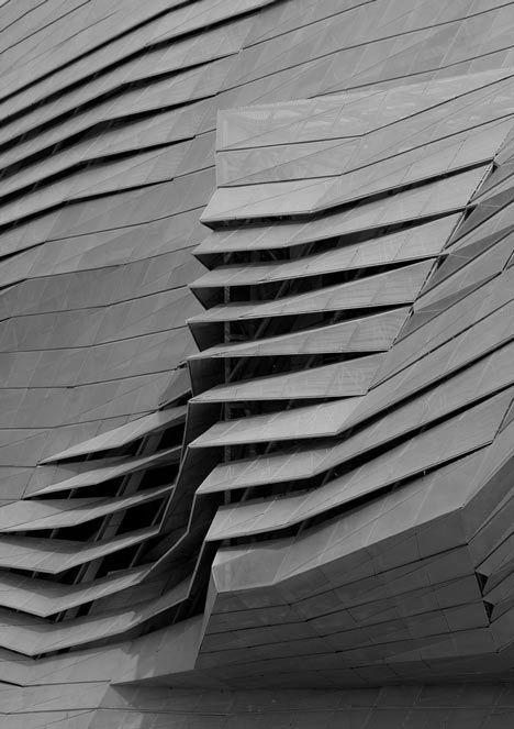 dimensional concrete paneling                              …