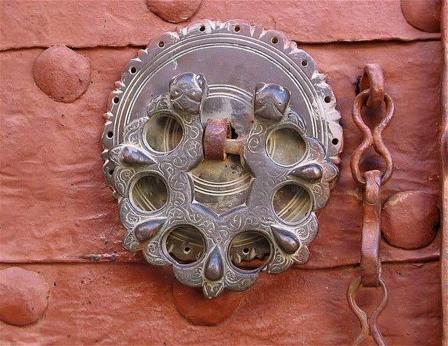Door Knocker | Mor Behnam (Kırklar) Church Mardin, Turkey
