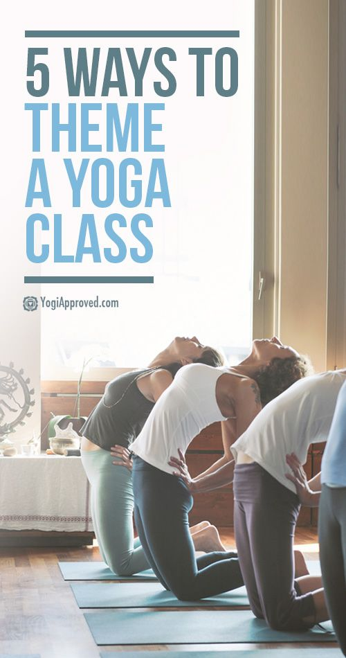 5 Ways to Theme a Yoga Class