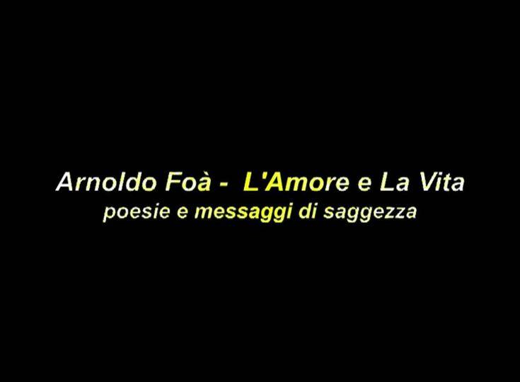 Arnoldo Foà - Ricorda (Poesie e Messaggi di Saggezza)