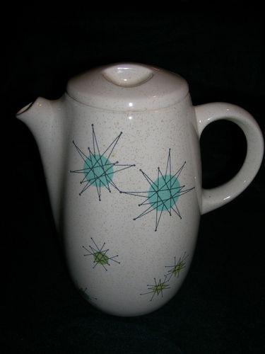 Beautiful Vintage Franciscan Starburst Atomic Coffee Pot 1950s ...
