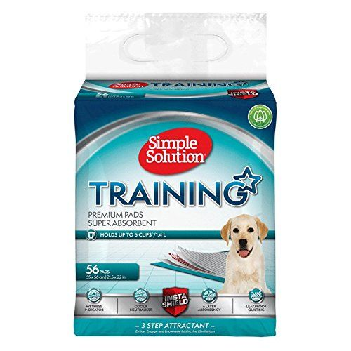 Simple Solution 6 X Layer Dog And Puppy Training Pads - 56 Pack