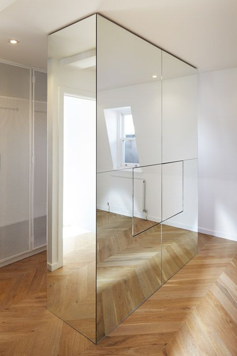 Apartments in London's fashionable Marylebone district created with relatively low budget.