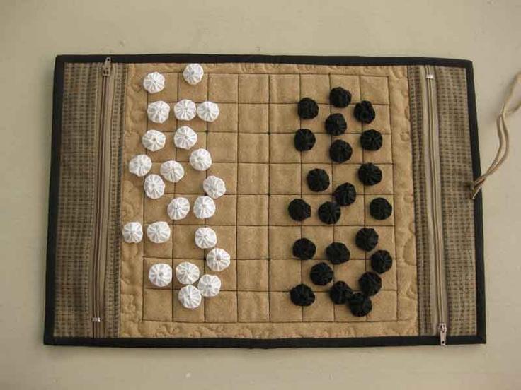 Fabric Go Game Board