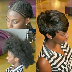 PIXIE CUT SEW IN PUT ALL THAT HAIR AWAY TO A FLAT  FOUNDATION #THEANTHONYAFFECT