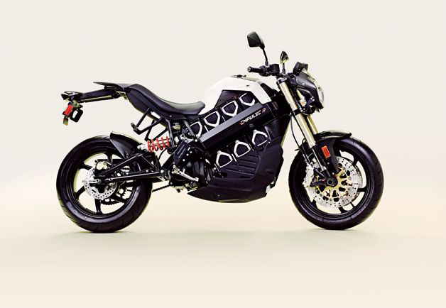 Best Stuff of the Year: Gear + Gadgets: GQ - Brammo Empulse R electric motorcycle.