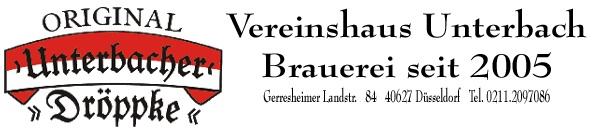 Vereinshaus Unterbach - Hausbrauerei Altbier