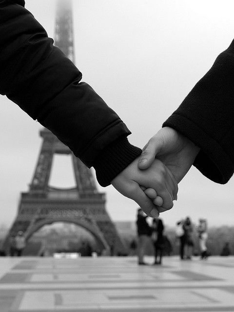romance in paris.