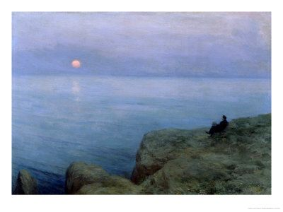 Alexander Pushkin at the Seashore, 1896