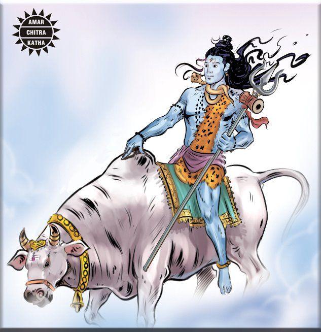 Shiva, the Lord of Destruction and Transformation. #Mythology #Shiva