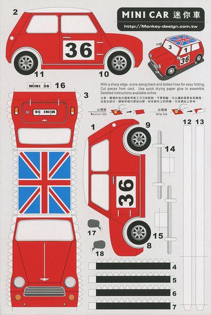Coche Mini  Para saber más sobre los coches no olvides visitar marcasdecoches.org