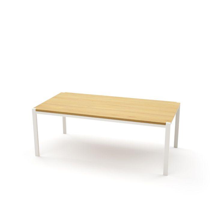 Tisch Ferrum 002 Holz Metall Eiche Astfrei Weiss Esstisch Gartentisch Stahlzart Mobel Moderne Designmobel Aus Holz Metallmobel Stahlmobel Mobelideen