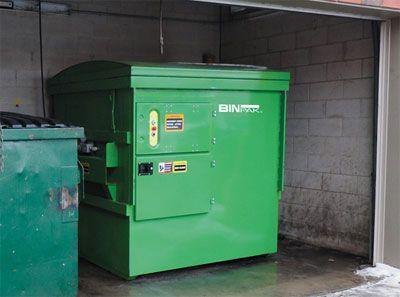 Compactor Garbage Disposal Machine industrial restaurant press recycle trash machine