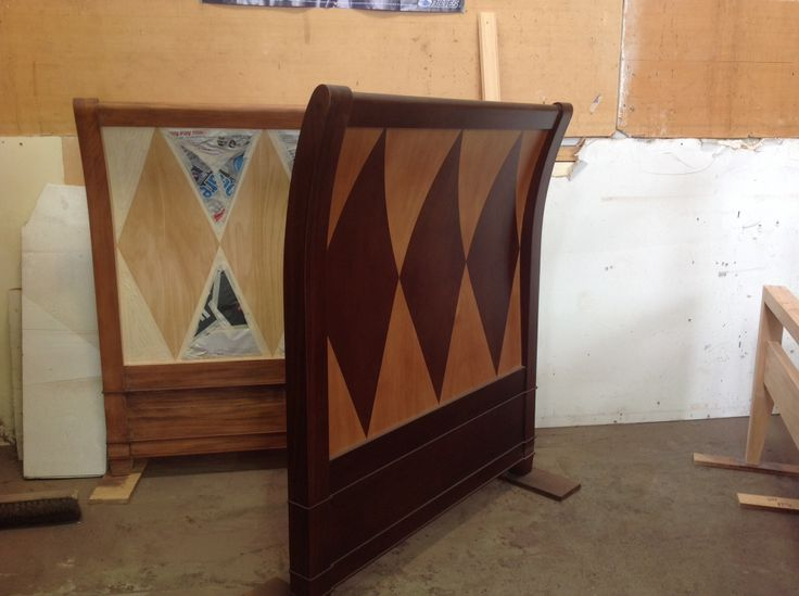 Bespoke Daybed ends with motif