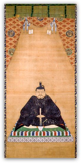 Zojoji Temple [ Founder Edo Shogunate 1st Shogun Ieyasu Tokugawa: Painting of Hanging scroll ] Official Site / 浄土宗大本山 増上寺 [ 徳川家康公 掛軸 ] 公式サイト