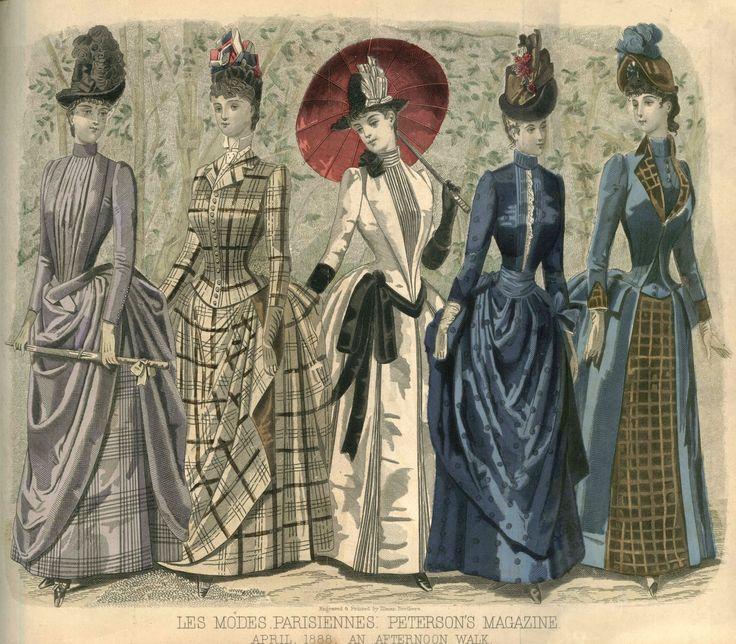 peterson's magazine images | ... . Викторианская мода. Peterson's Magazine, 1888