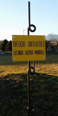 Lestans - rifugio antiaereo